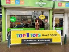 Toch nieuwe start voor Top1Toys in Vlijmen, met ander pand en nieuwe eigenaar