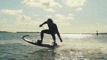 Nieuw jetboard stuwt je met 55 km/u over water (maar de prijs is niet min)