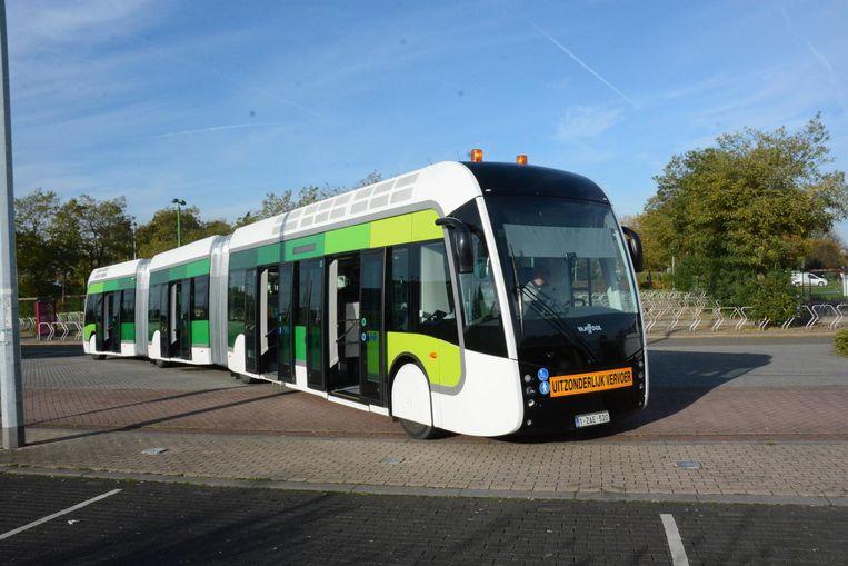 Anneleen Van Bossuyt ziet de trambus als een alternatief voor de tram.