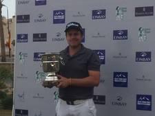 Eerste profzege golfer Lars van Meijel uit Best
