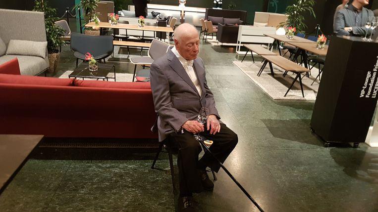 Haitink rust uit na zijn laatste concert. Beeld Guido van Oorschot