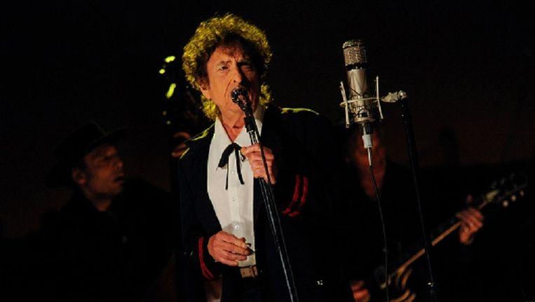 Dylan bij David Letterman (2015)