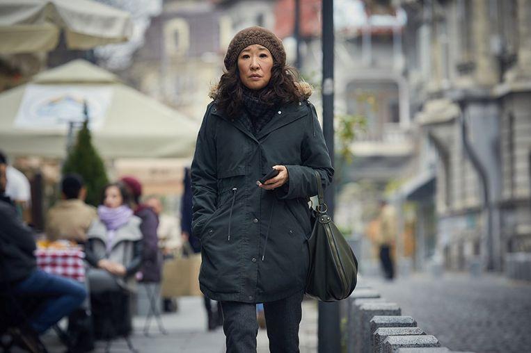 Sandra Oh in 'Killing Eve'. Beeld