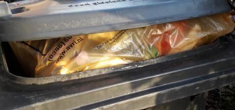 Avri: binnenkort geen gratis oranje zakken meer voor plastic afval