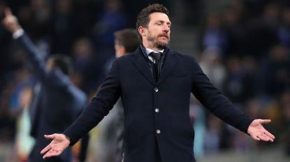 AS Roma-coach vlucht spelersbus in na Europese exit en riskeert boete
