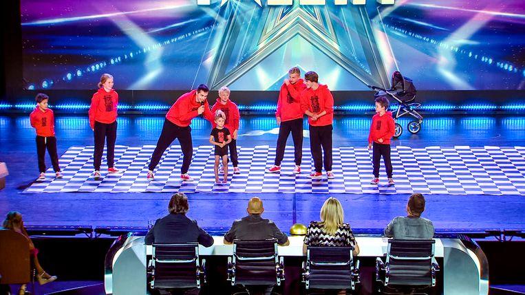 Busta Move scoort vier ja's in Belgium's Got Talent