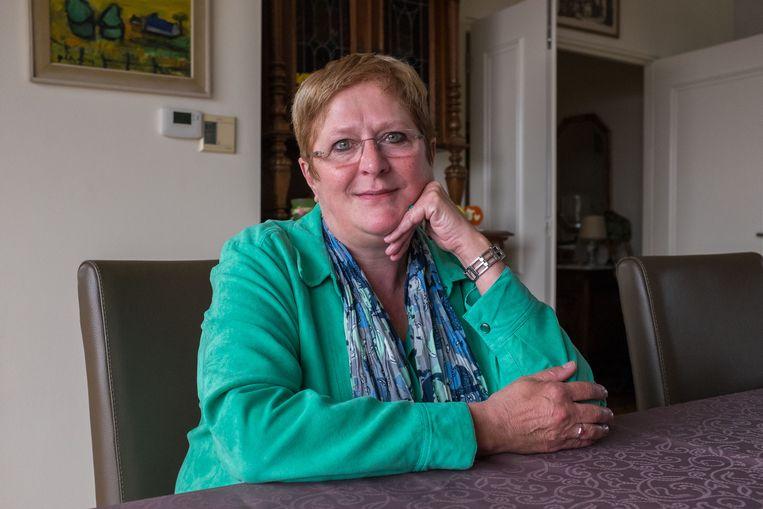 Groen-boegbeeld Mieke Vogels (64). Foto uit 2014.