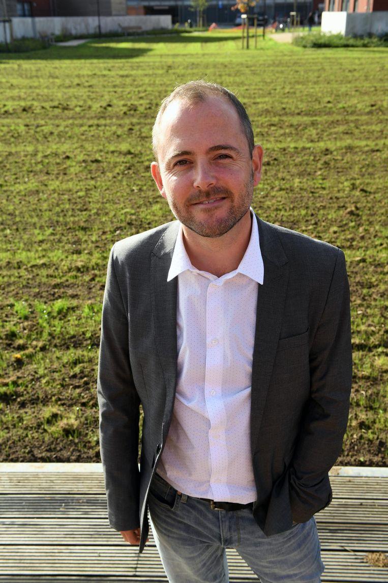 Lijsttrekker David Dessers.