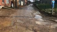 Tempelstraat krijgt voor bouwverlof onderlaag asfalt