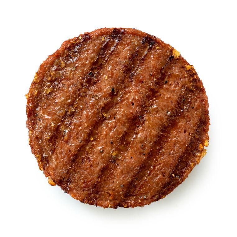 Vegetarische burger. Beeld shutterstock