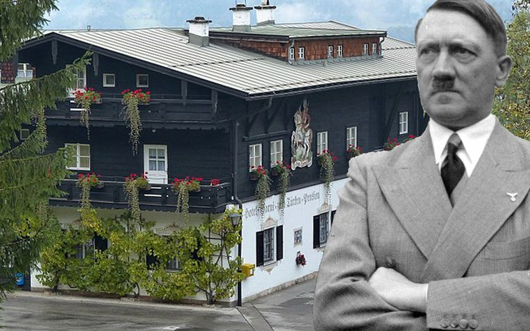 In 'Hotel Zum Türken' ontving Hitler hooggeplaatste nazi's en topmedewerkers van de Gestapo.