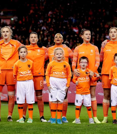Leeuwinnen oefenen tegen België en Noorwegen