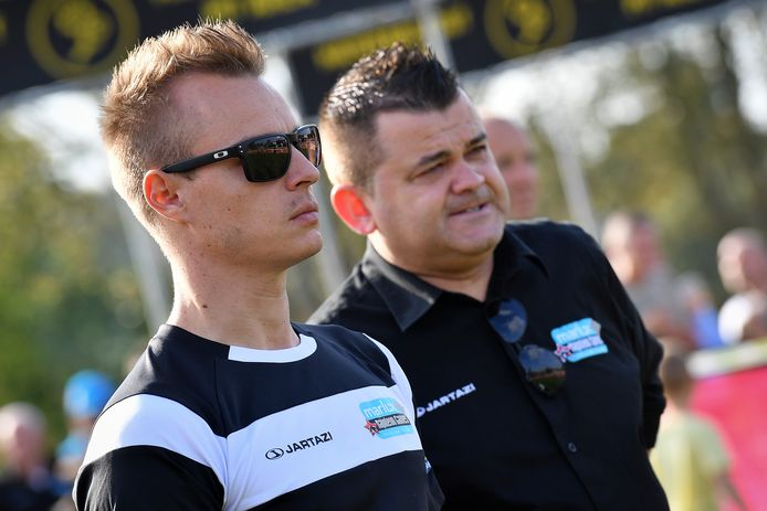 Jurgen Mettepenningen, hier naast Gianni Meersman (links).