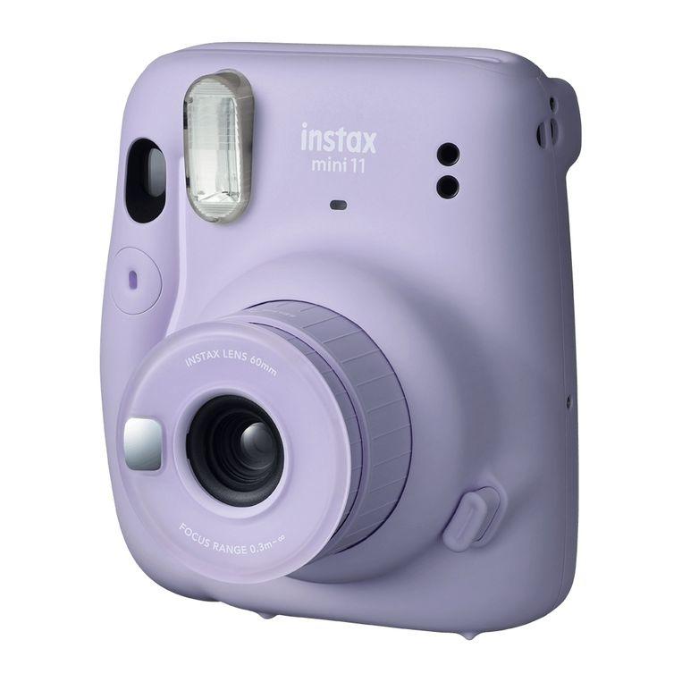 Buiten + elektronica: 'Fujifilm Instax Mini 11'-polaroidcamera, € 79. coolblue.nl  Beeld