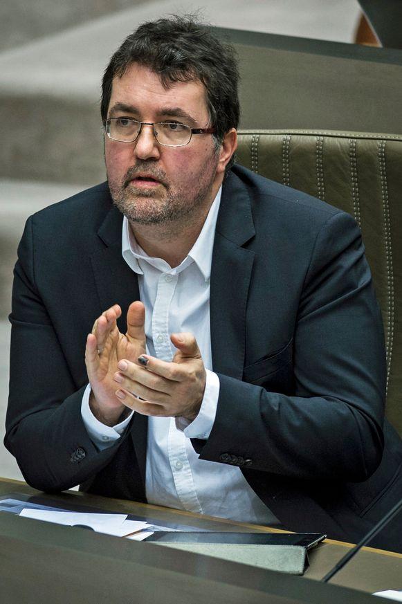 Groen-parlementslid Wouter Van Besien.