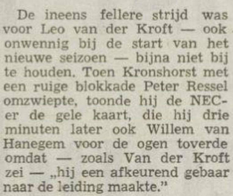 Het Vrije Volk, 14 augustus 1972 Beeld Archief