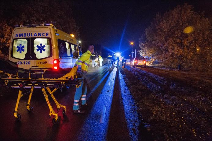 Ongeval op Bredaseweg bij Etten-Leur.