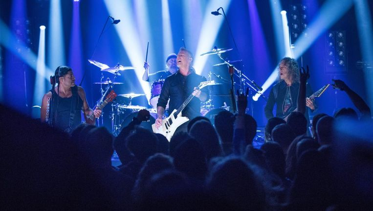 Metallica Beeld epa