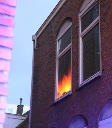 Woningbranden in Scheveningen en Leidschendam