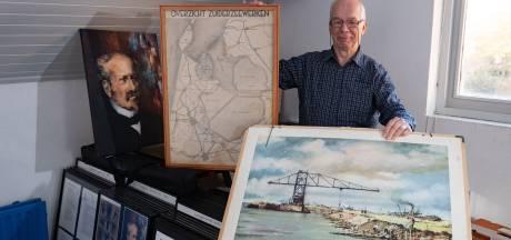 Ed Voigt uit Lelystad weet bijna alles over Cornelis Lely: 'Ik herken me in hem'