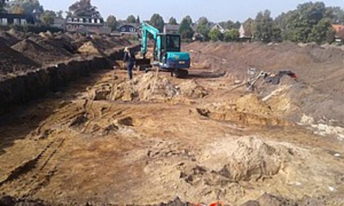 Opgravingen op Smachtenburg.