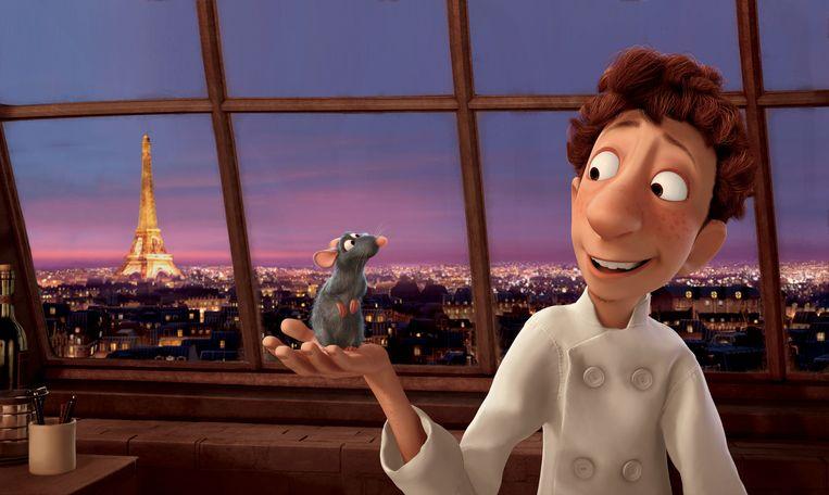 Een rat met een passie voor koken, je moet er maar opkomen.