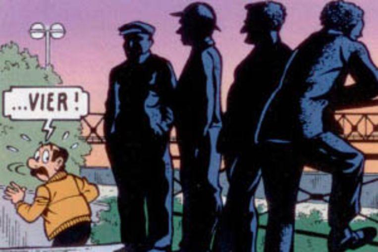 Het werkt dook al een aantal keer op in stripverhalen, zoals Kiekeboe.
