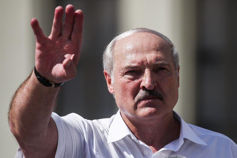 President Aleksandr Loekasjenko kan een inreisverbod en een bevriezing van zijn Europese tegoeden verwachten. Beeld Valery Sharifulin/TASS