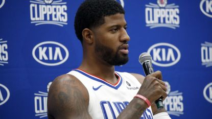 Paul George mist seizoensstart met Clippers