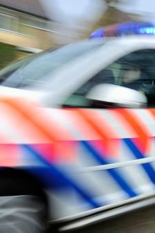 Bakfiets met drie kinderen door busje sloot ingereden bij Borne, bestuurder rijdt door