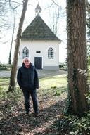 JV 05042018 Sinderen kasteel Willem / Willem Meijerman schreef een boek over het verdwenen Huis Sinderen / Foto : Jan Ruland van den Brink