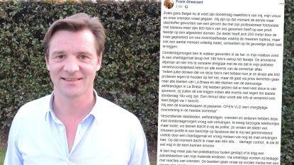 """""""Mijn vrouw en ik durven ons niet meer publiek vertonen"""": schepen die meedeed aan seksfeest in zomerbar post emotionele brief op Facebook"""