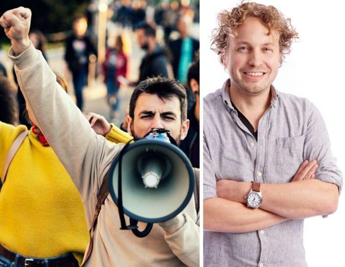 2019 is het jaar van de demonstratie, constateert columnist Niels Herijgens.