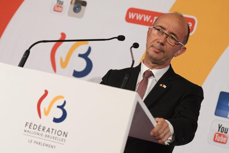 Rudy Demotte, minister-president van de Franse Gemeenschap.