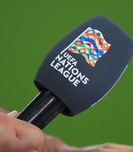 Programma en standen Nations League en alle oefeninterlands