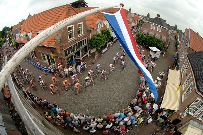 Het NK wielrennen tijdens een eerdere editie in Ootmarsum.