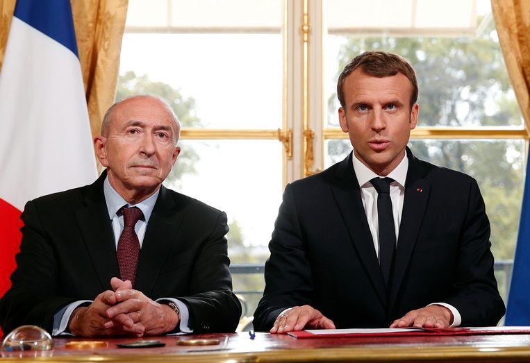 De Franse president Emmanuel Macron heeft het ontslag van zijn minister van Binnenlandse Zaken Gerard Collomb aanvaard. Eerder weigerde Macron diens verzoek om de regering te verlaten nog.