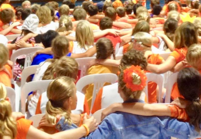'Wat een feest. Op school kwam een hele generatie nieuwe Nederlandse wereldburgers voorbij en wat waren ze leuk.'