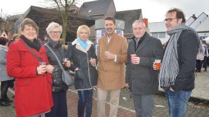 Nieuwjaarsreceptie voor alle inwoners op Sint-Goriksplein