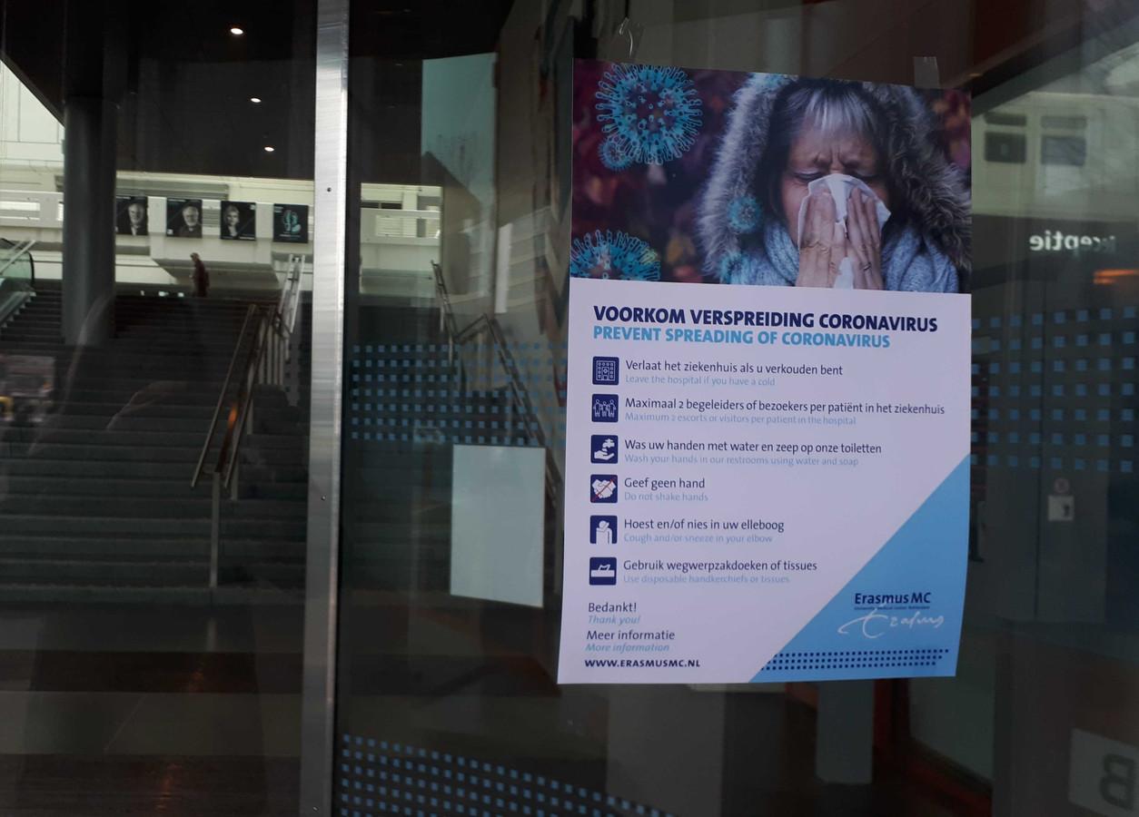 In het Erasmus MC wordt ook onderzoek gedaan naar het nieuwe coronavirus.