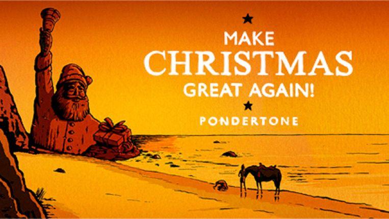 Pondertone - Make Christmas Great Again! Beeld