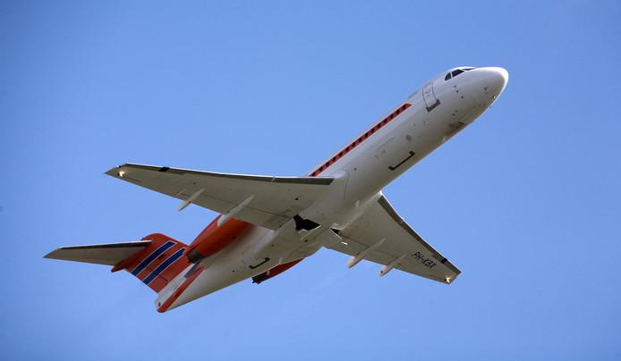 Wie een vlucht met de Fokker wil boeken, moet de portemonnee trekken en flink ook