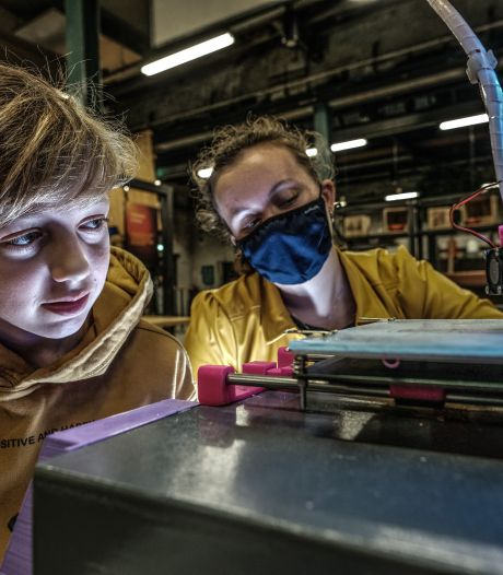 Pakweg 60 scholieren Achterhoek bouwen 3D-printers