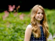 Prinses Alexia viert vandaag twaalfde verjaardag