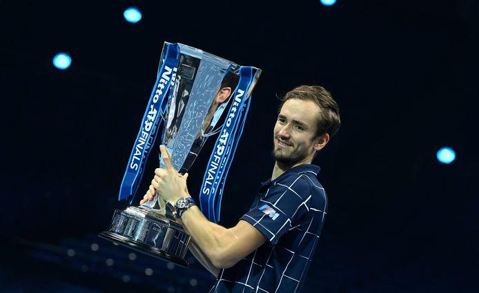 Daniil Medvedev, winnaar van de ATP Finals in Londen, heeft toegezegd naar ABN AMRO-toernooi te komen.
