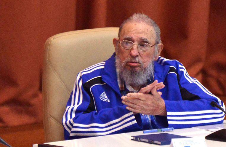 Fidel Castro in april.