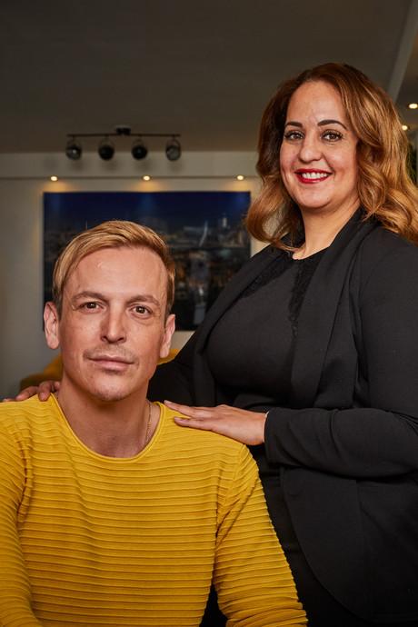Kapper Ljubo Senda werd tijdens zijn werk getroffen door hart- en herseninfarct: 'Dankzij Ouafa leef ik nog'