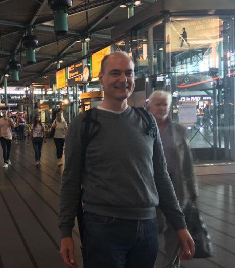 Grote zoekactie Diemerbos naar vermiste Weesper Pieter Houtekamer (47)
