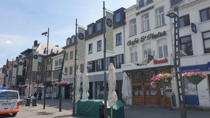 """Grote Markt wordt één groot terras deze zomer: """"Stadsbestuur dankbaar voor deze mogelijkheden"""""""