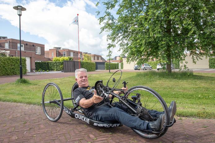 Jan Simpelaar ging na een beenamputatie met zijn revalidatieteam naar Oostenrijk waar hij met de handbike de Kauntertaler Gletscherstrasse bedwong.